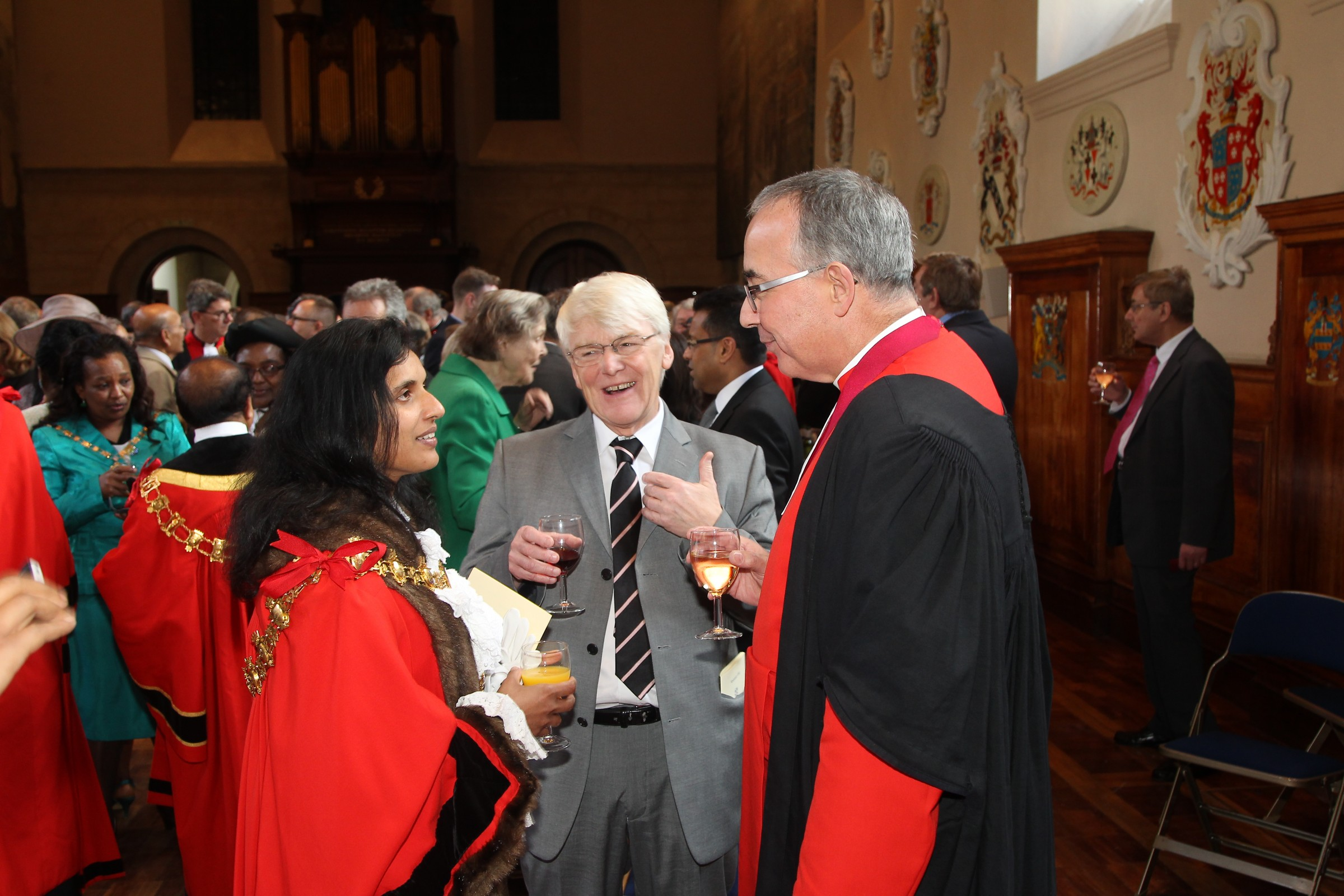 Evensong celebrating the Feast of the Dedication of Westminster Abbey in the presence of The Lord Mayor of Westminster and the Mayors of the London Boroughs.