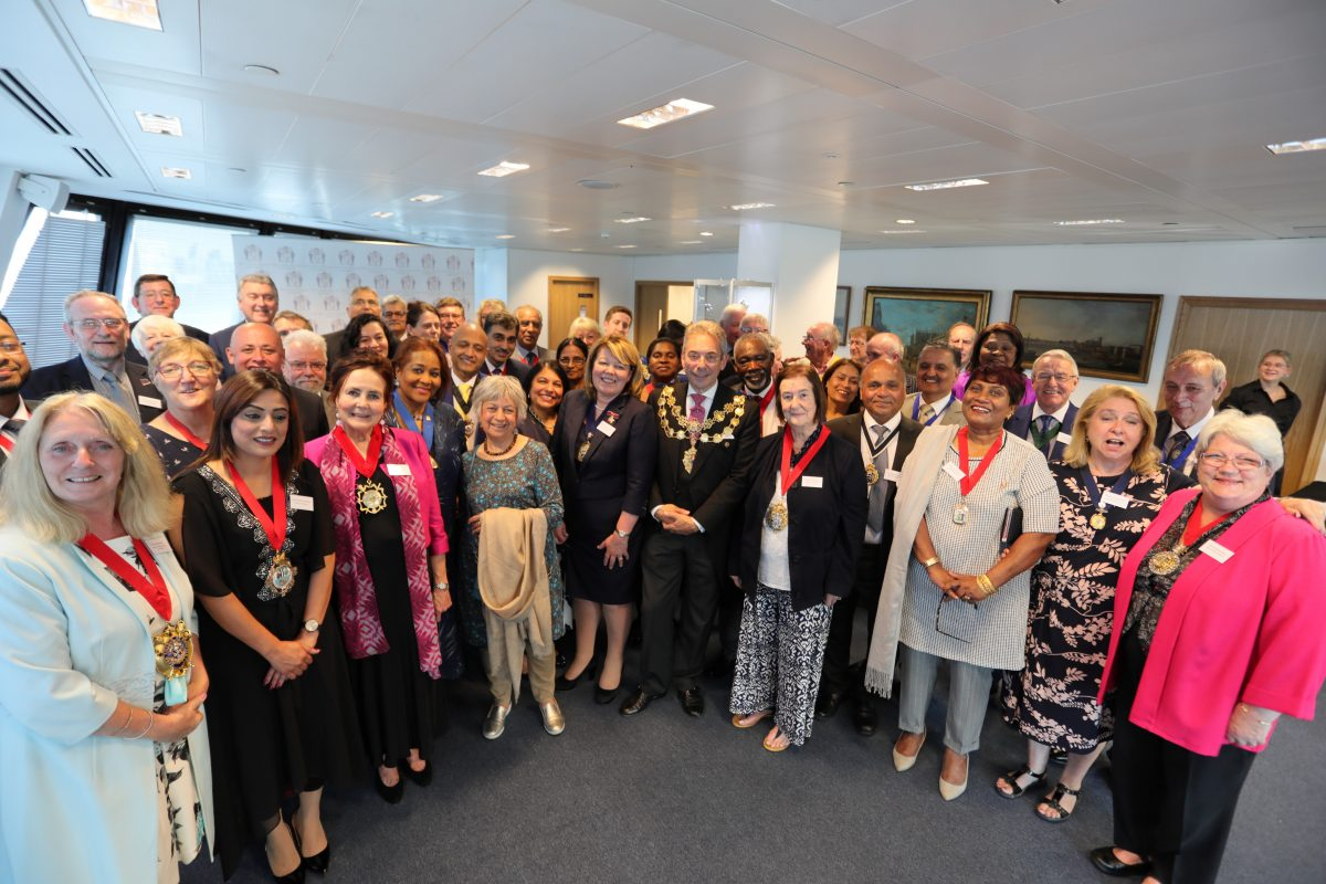 New Mayors' Reception – 19 June 2018